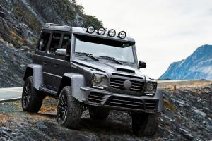 2017 Mercedes-Benz G500 4x4² Gronos Black Desert by Mansory