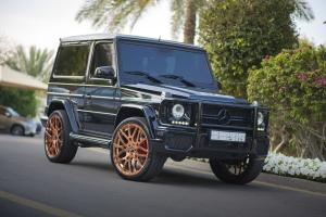 Mercedes-Benz G55 AMG on Forgiato Wheels (Maglia-M) 2017 года