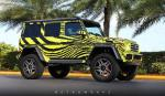 Mercedes-Benz G550 4x4² by MetroWrapz 2017 года
