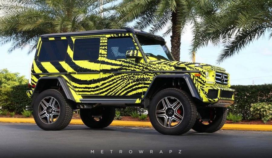 Mercedes-Benz G550 4x4² by MetroWrapz