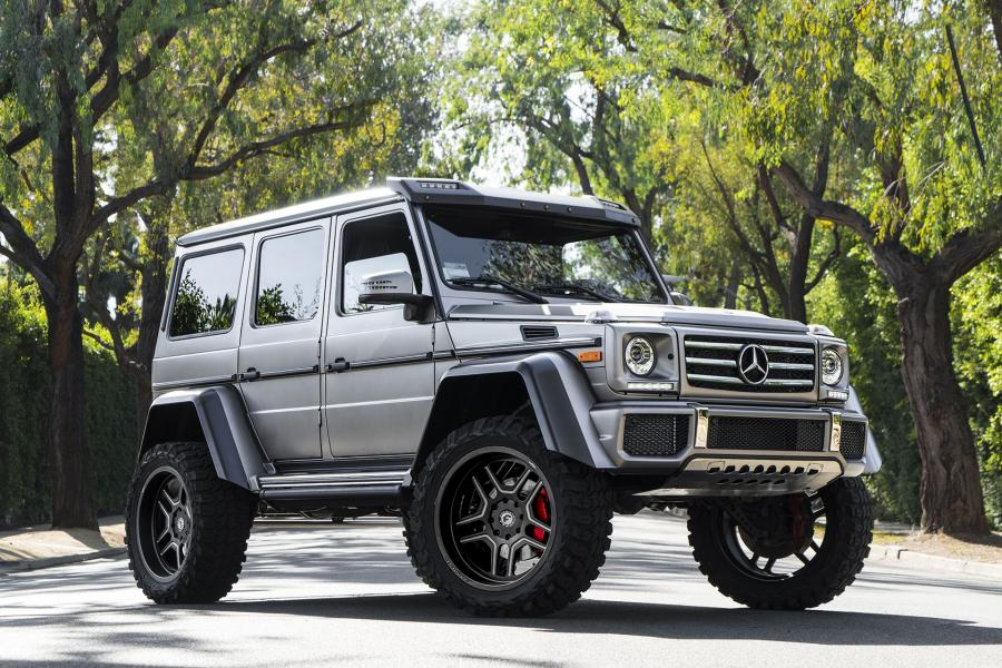 Mercedes-Benz G550 4x4² on Forgiato Wheels (Origini-T)