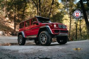 2017 Mercedes-Benz G550 4x4² on HRE Wheels (TR188)