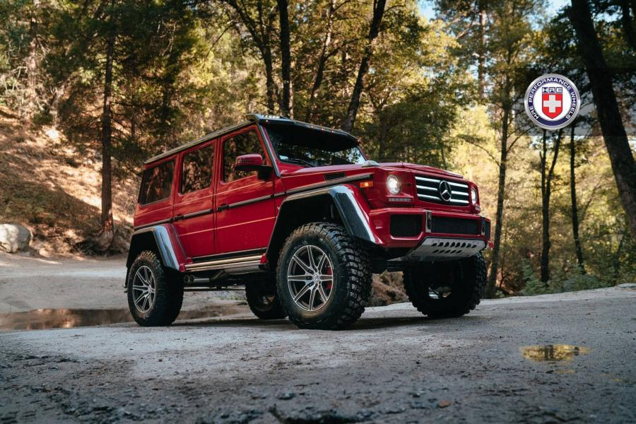 Mercedes-Benz G550 4x4² on HRE Wheels (TR188)