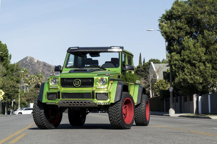 Mercedes-Benz G550 Adventure 4x42 by Brabus on Forgiato Wheels (Fratello-M)