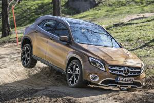 Mercedes-Benz GLA220 4Matic 2017 года (WW)