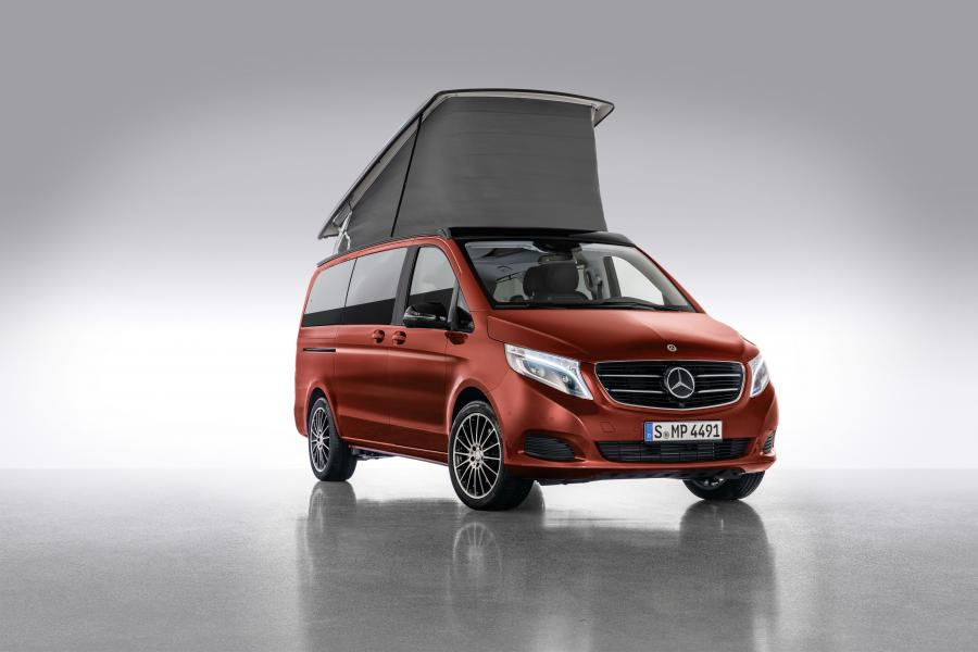 Mercedes-Benz Marco Polo Horizon Designo Hyacinth Red Metallic