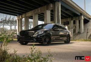 2017 Mercedes-Benz S-Class by MC Customs on Vossen Wheels (VFS2)