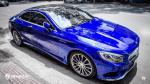 Mercedes-Benz S500 Coupe AMG Line Blue Metallic by WrapStyle 2017 года