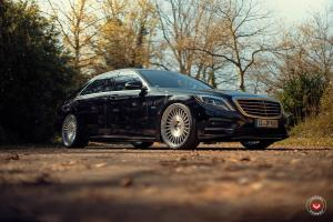 Mercedes-Benz S500e on Vossen Wheels (ML-R1) 2017 года