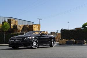 Mercedes-Benz S550 Cabriolet on Forgiato Wheels (Espoto)