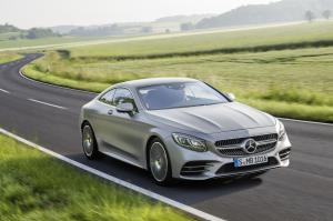 Mercedes-Benz S560 Coupe AMG Line 2017 года