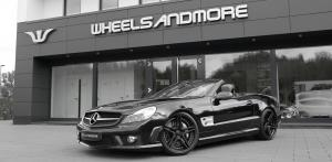 2017 Mercedes-Benz SL63 AMG by Wheelsandmore on FiveStar Wheels