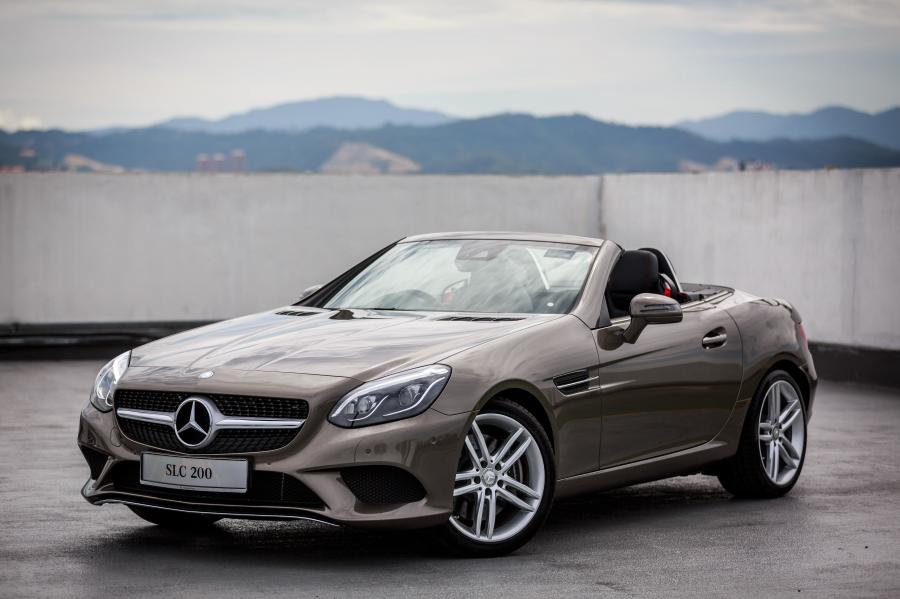2017 Mercedes-Benz SLC200 (MY)