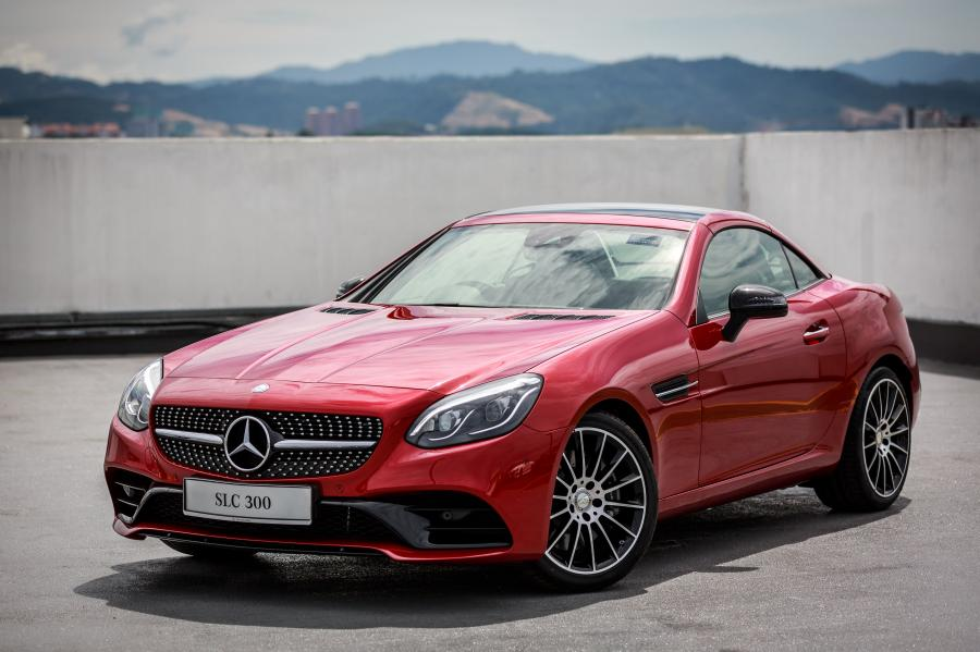 2017 Mercedes-Benz SLC300 AMG Line (MY)