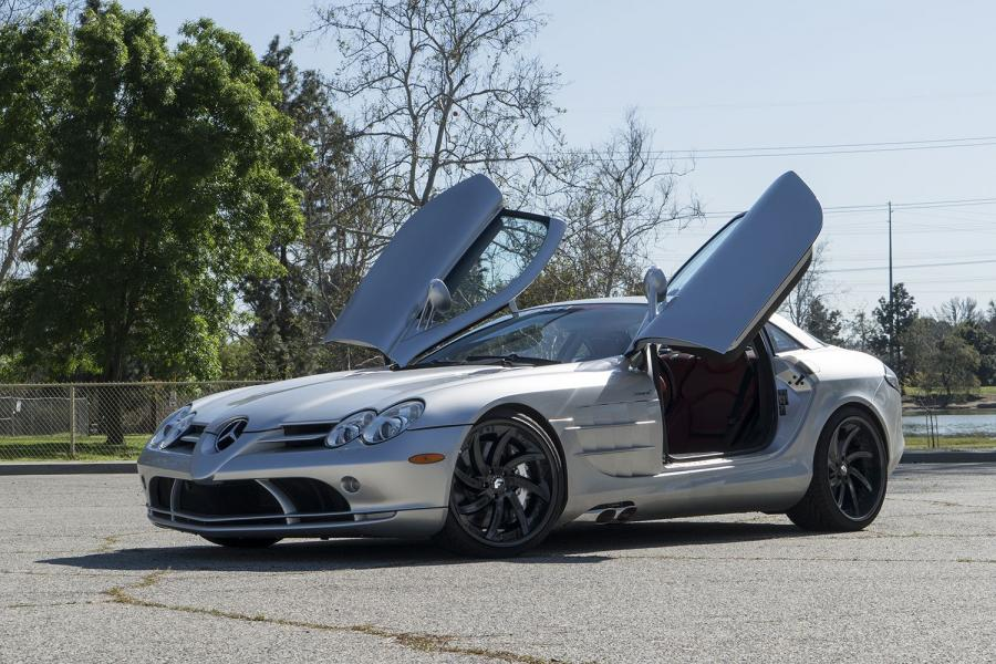 2017 Mercedes-Benz SLR McLaren on Forgiato Wheels (Azioni)