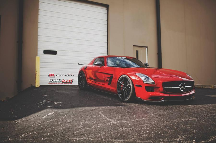 Mercedes-Benz SLS AMG by Exotic Motors and RENNtech
