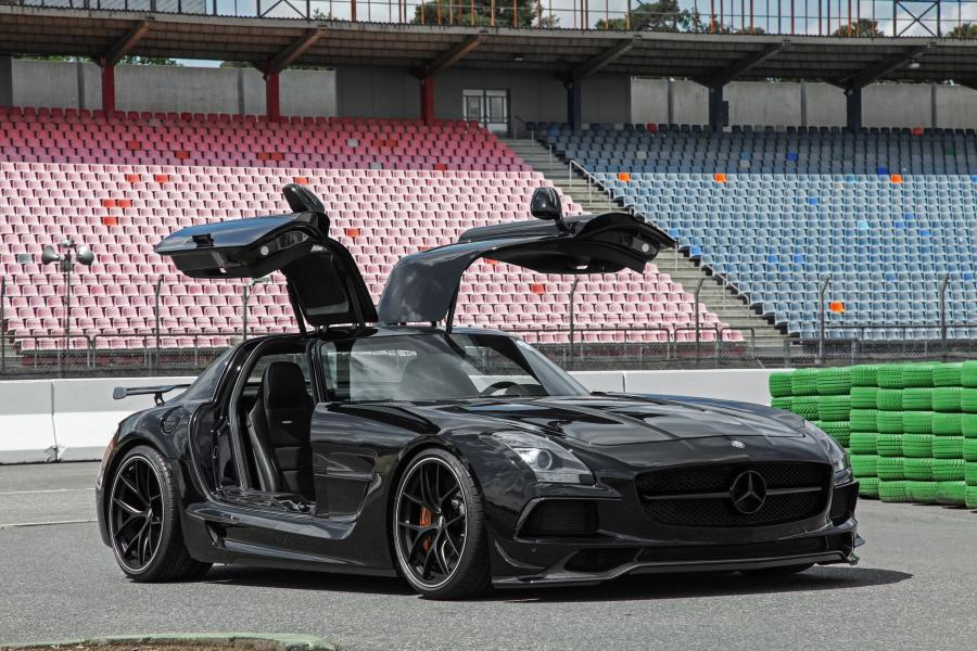 Mercedes-Benz SLS63 AMG Black Series by INDEN-Design