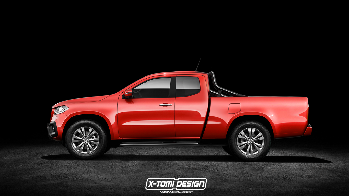 Mercedes-Benz X-Class King Cab by X-Tomi Design
