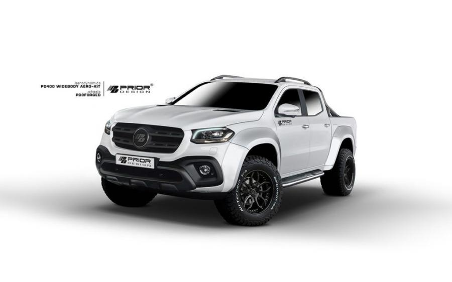 Mercedes-Benz X-Class PD400 WideBody Aero Kit by Prior Design