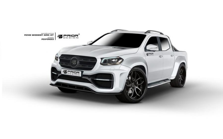 Mercedes-Benz X-Class PD500 WideBody Aero Kit by Prior Design