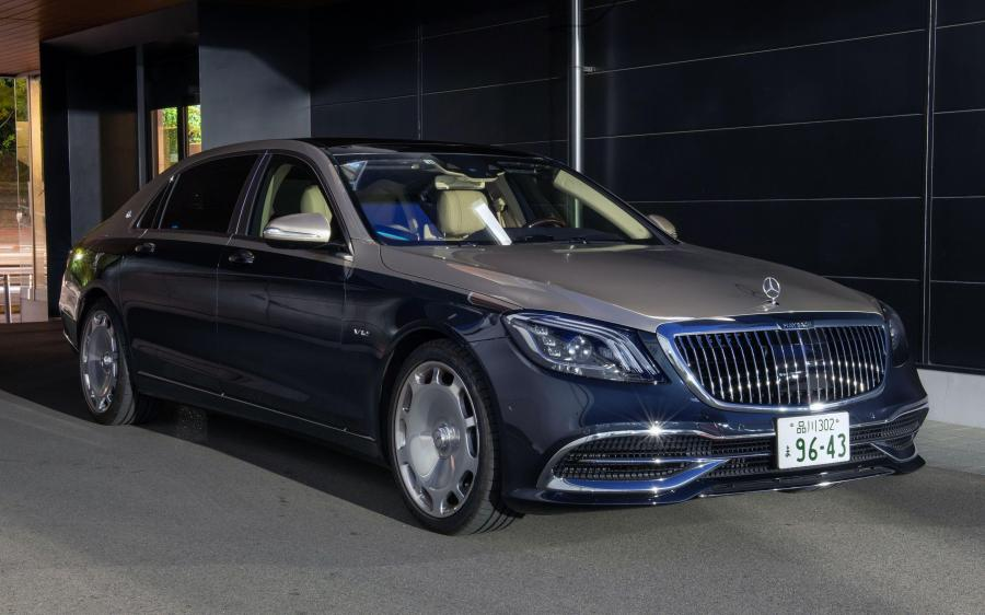 Mercedes-Maybach S650 (X222) (JP) '2017