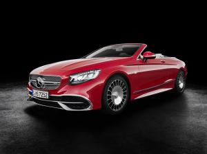 Mercedes-Maybach S650 Cabriolet 2017 года