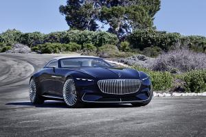 Vision Mercedes-Maybach 6 Cabriolet 2017 года
