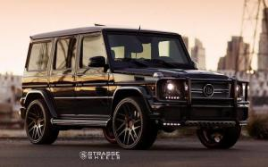 Mercedes AMG G65 on Strasse Wheels (SM7T Deep Concave) 2018 года