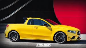 2018 Mercedes-AMG A35 Pickup by X-Tomi Design