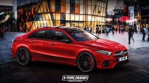 Mercedes-AMG A45 Sedan by X-Tomi Design 2018 года