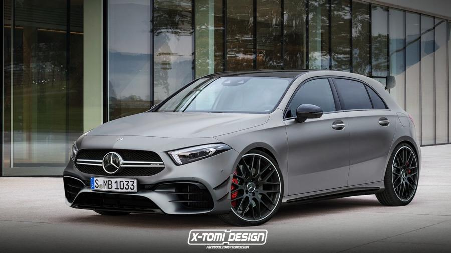 Mercedes-AMG A45 by X-Tomi Design