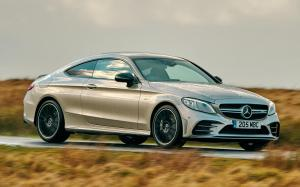 Mercedes-AMG C43 4Matic Coupe 2018 года (UK)