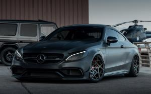 Mercedes-AMG C63 Coupe The Dark Knight by Z-Performance 2018 года