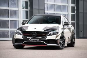 Mercedes-AMG C63 S Camouflage by G-Power 2018 года
