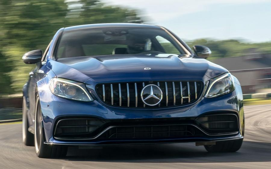 2018 Mercedes-AMG C63 S Coupe (NA)