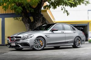 Mercedes-AMG C63 S Iridium Silver on ADV.1 Wheels (ADV5.2 M.V2) 2018 года