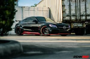 Mercedes-AMG C63 S R3+ Coupe Widebody by RENNtech 2018 года