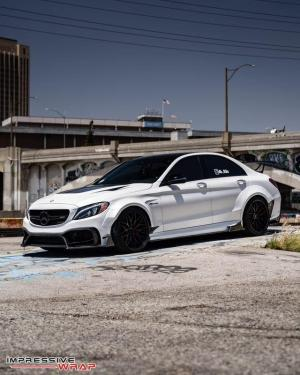 Mercedes-AMG C63 S by Impressive Wrap 2018 года