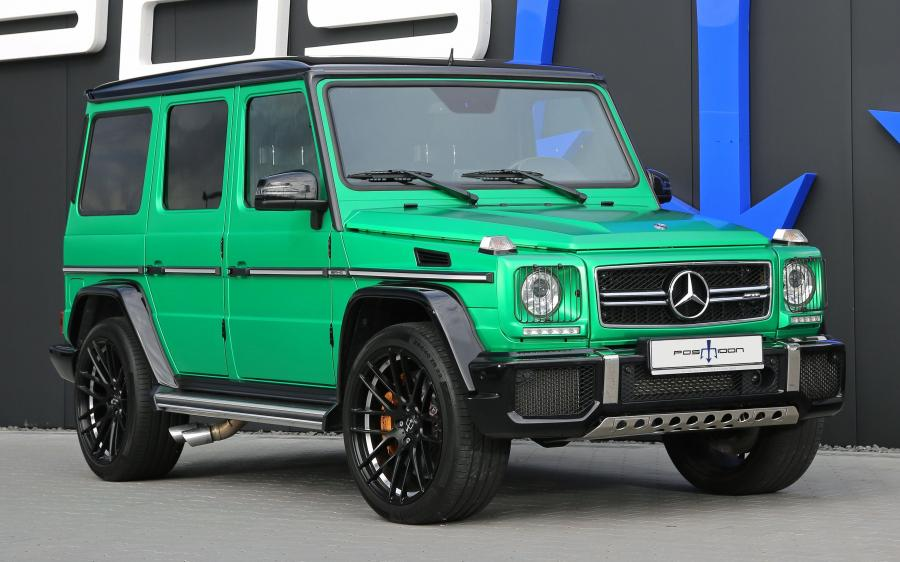 2018 Mercedes-AMG G63 RS 850 by Posaidon