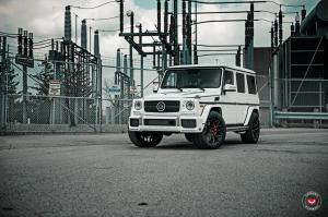 2018 Mercedes-AMG G63 by Brabus on Vossen Wheels (S17-01)