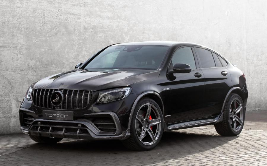2018 Mercedes-AMG GLC-Class Coupe Inferno by TopCar (Black)