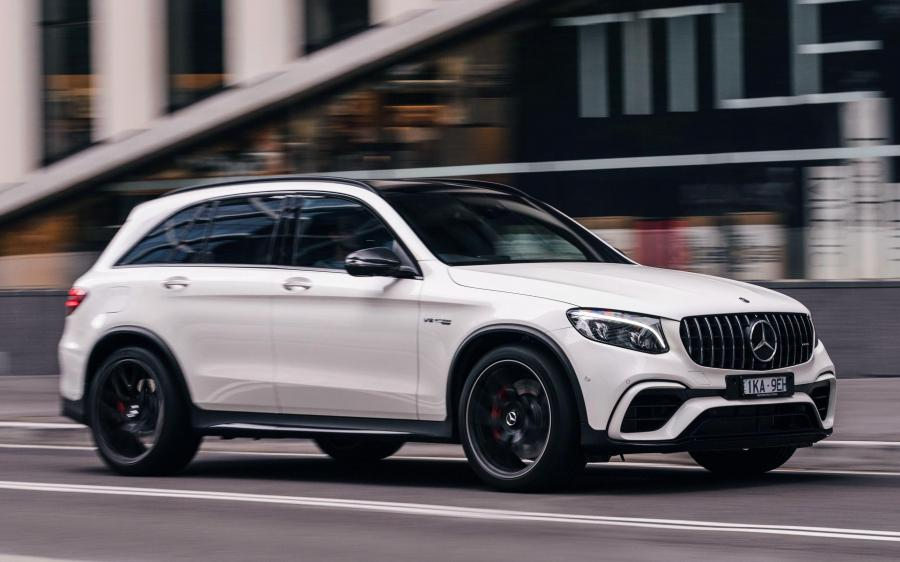 Mercedes-AMG GLC63 S 4Matic+ (X253) (AU) '2018
