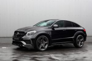 Mercedes-AMG GLE63 Coupe Inferno by TopCar on ADV.1 Wheels (ADV5 M.V1 CS) 2018 года