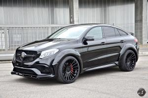Mercedes-AMG GLE63 S 4Matic Coupe Widebody by DS Automobile 2018 года
