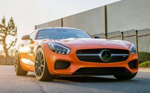 Mercedes-AMG GT S Gloss Orange by Impressive Wrap 2018 года
