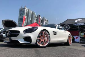 Mercedes-AMG GT S on Forgiato Wheels (Sette-ECL) 2018 года