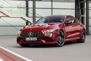 2018 Mercedes-AMG GT43 4Matic+ 4-Door Coupe