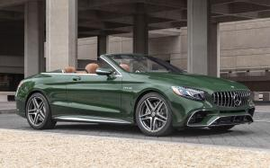 Mercedes-AMG S63 4Matic+ Cabriolet 2018 года (NA)