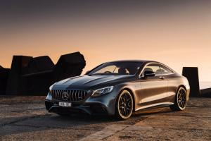 Mercedes-AMG S63 4Matic+ Coupe 2018 года