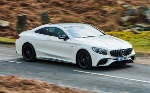 Mercedes-AMG S63 4Matic+ Coupe 2018 года (UK)